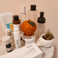 skincare empties - a cup of owl